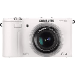 Samsung EX2F 12.4MP Wi-Fi White Digital Camera