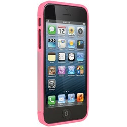 Cygnett Alternate Pink/White Two-tone Dockable Case iPhone 5 + 5S