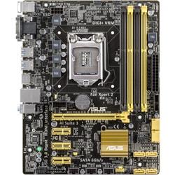 Asus H87M-E Desktop Motherboard - Intel H87 Express Chipset - Socket