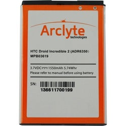 Arclyte HTC Batt ADR6350; Droid Incredible 2