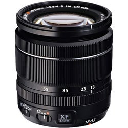 Fujifilm Fujinon 18 mm - 55 mm f/2.8 - 4 Zoom Lens for X-mount (New Non Retail Packaging)