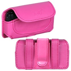 INSTEN Hot Pink Horizontal Phone Case Cover for Sanyo 8500