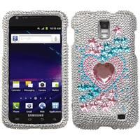 INSTEN Star Track Diamond Phone Case Cover for Samsung Galaxy S II Skyrocket i727 - multi