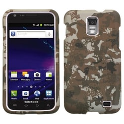 INSTEN Digital Camo Yellow Phone Case Cover for Samsung Galaxy S II Skyrocket i727