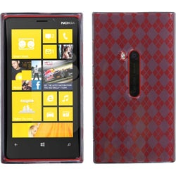 INSTEN Smoke Argyle Candy Phone Case Cover for Nokia 920 Lumia