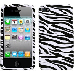 INSTEN Zebra Phone Case Cover for Apple iPhone 4/ 4S
