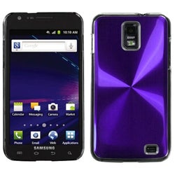 INSTEN Purple Cosmo Phone Case Cover for Samsung Galaxy S II/ Skyrocket i727