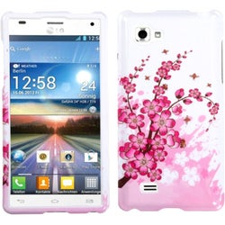 INSTEN Spring Flowers Phone Case Cover for LG P880 Optimus 4X HD