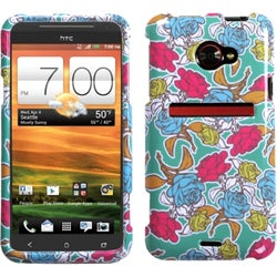 INSTEN Rose Garden Phone Protector Phone Case Cover for HTC EVO 4G LTE