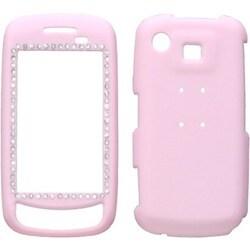 INSTEN Diamond Phone Case Cover/ Rubberized 014 for Samsung A877 Impression