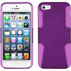 INSTEN Purple/ Electric Pink Astronoot Phone Case for Apple iPhone 5/ 5S/ SE