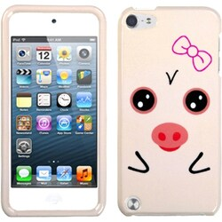 Insten Beige Pig Hard Snap-on Case Cover For Apple iPod Touch 5th/ 6th Gen
