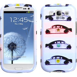 INSTEN Running Jeep Phone Case Cover for Samsung Galaxy S III/ S3 i9300