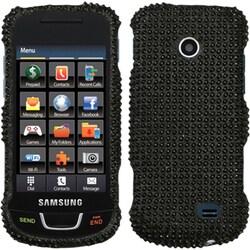INSTEN Black/ Diamante Phone Case Cover for Samsung T528G