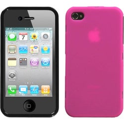INSTEN Hot Pink Lens Phone Case Cover for Apple iPhone 4S/ 4
