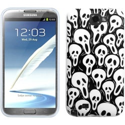 INSTEN Screaming Ghosts Phone Case Cover for Samsung Galaxy Note II T889/ I605