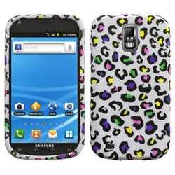 INSTEN Colorful Leopard Candy Skin Phone Case Cover for Samsung T989 Galaxy S II