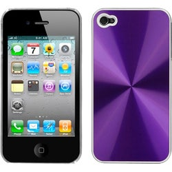 INSTEN Purple Cosmo Back Phone Case Cover for Apple iPhone 4S/ 4