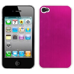 INSTEN Hot Pink Cosmo Back Phone Case Cover for Apple iPhone 4/ 4S