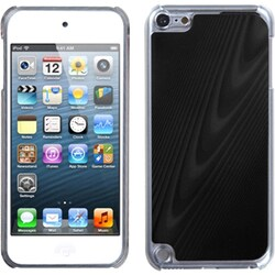 Insten Black/ Clear Cosmo Aluminum Hard Plastic Metal Case Cover For Apple iPod Touch 5th/ 6th Gen