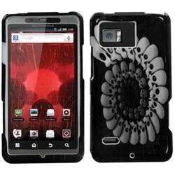 INSTEN Round Skull Phone Case Cover for Motorola XT875 Droid Bionic