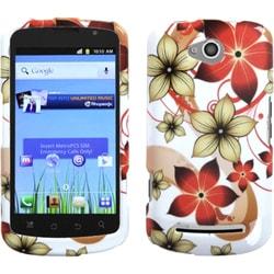 INSTEN Hibiscus Flower Romance Phone Case Cover for Coolpad 5860E Quattro 4G
