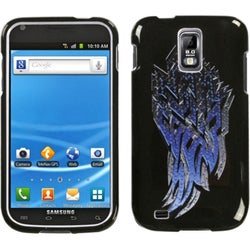 INSTEN Steel SHard Plastic Hard Plastic Phone Case Cover for Samsung Galaxy S 2 T989 Hercules