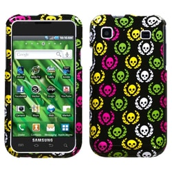 INSTEN Cute Skulls Phone Case Cover for Samsung T959 Vibrant/ T959V Galaxy S 4G