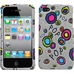 INSTEN Pop Candy Sparkle Phone Case Cover for Apple iPhone 4S/ 4