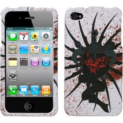 INSTEN Lizzo/ Bloody Rose Phone Case Cover for Apple iPhone 4S/ 4
