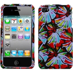 INSTEN Flower Power Phone Case Cover for Apple iPhone 4S/ 4