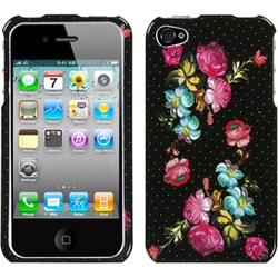 INSTEN Blooming Flowers Phone Case Cover for Apple iPhone 4S/ 4