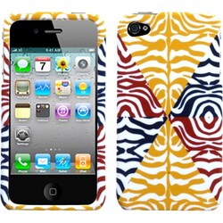INSTEN Animal Skin/ Motley Phone Case Cover for Apple iPhone 4S/ 4