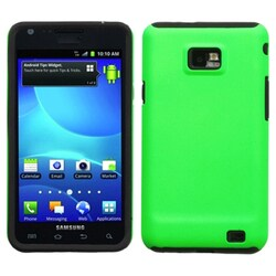 INSTEN Apple Green Fusion Phone Case Cover for Samsung I777 Galaxy S II