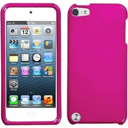 Insten Hot Pink Hard Snap-on Glossy Case Cover For Apple iPod Touch 5th/ 6th Gen