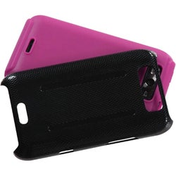 INSTEN Hot Pink Inverse Fusion Phone Case Cover for LG Connect 4G/ Viper