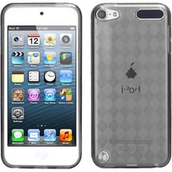 INSTEN Smoke Argyle Pane Candy Skin iPod Case Cover for Apple iPod 5 touch