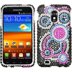INSTEN Bubble Diamante Protector Phone Case Cover for Samsung D710 Epic 4G Touch