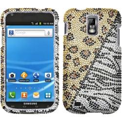 INSTEN Hottie Diamante Phone Case Cover for Samsung T989 Galaxy S Ii