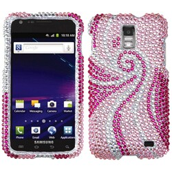 INSTEN Phoenix Tail Phone Case Cover for Samsung I727 Galaxy S2 Skyrocket