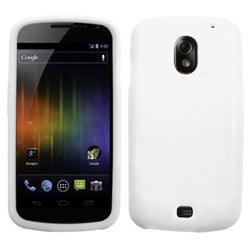 INSTEN White Solid Skin Phone Case Cover for Samsung I515 Galaxy Nexus