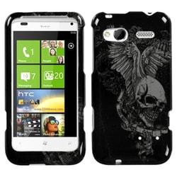 INSTEN Skull Wings Phone Case Cover for HTC Radar 4G