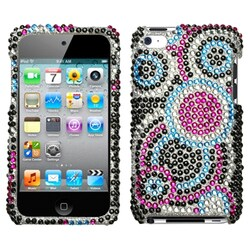 INSTEN Bling Bubble Diamante iPod Case Cover for Apple iPod Touch 4th Generation