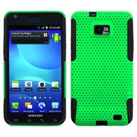 INSTEN Green/ Black Astronoot Phone Case Cover for Samsung I777 Galaxy S2