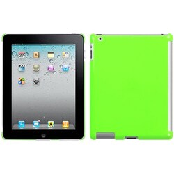 INSTEN Pearl Green SmartSlim Back Tablet Case Cover for Apple iPad 1/ 2/ 4