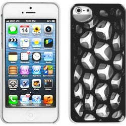 INSTEN Black/ White/ Synapse Phone Case Cover for Apple iPhone