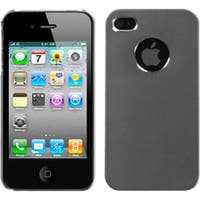 INSTEN Grey/ Cosmo Phone Case Cover for Apple iPhone 4S/ 4