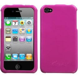 INSTEN Hot Pink Executive Phone Case Cover for Apple iPhone 4S/ 4