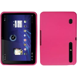 INSTEN Solid Hot Pink Phone Case Cover for Motorola MZ600 Xoom