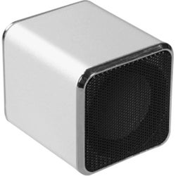 INSTEN Mini Silver Speakers for PC/ MP3 Player/ Cell Phone